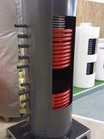Akumulační nádrž LMT na výstavě A