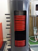 Akumulační nádrž LMT na výstavě B
